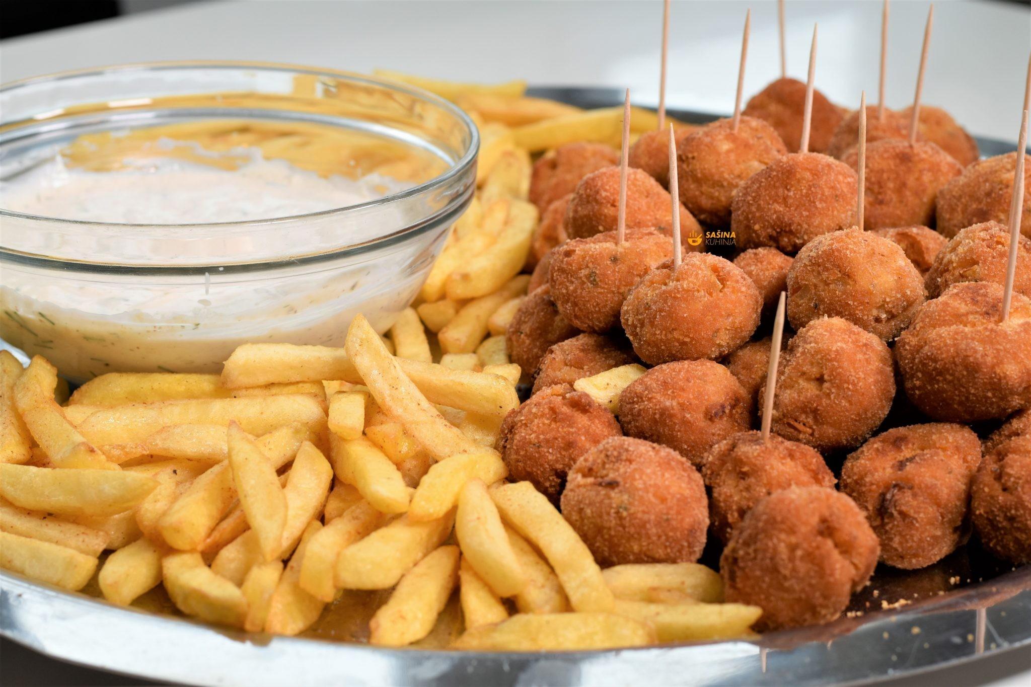 finger food mesne okruglice