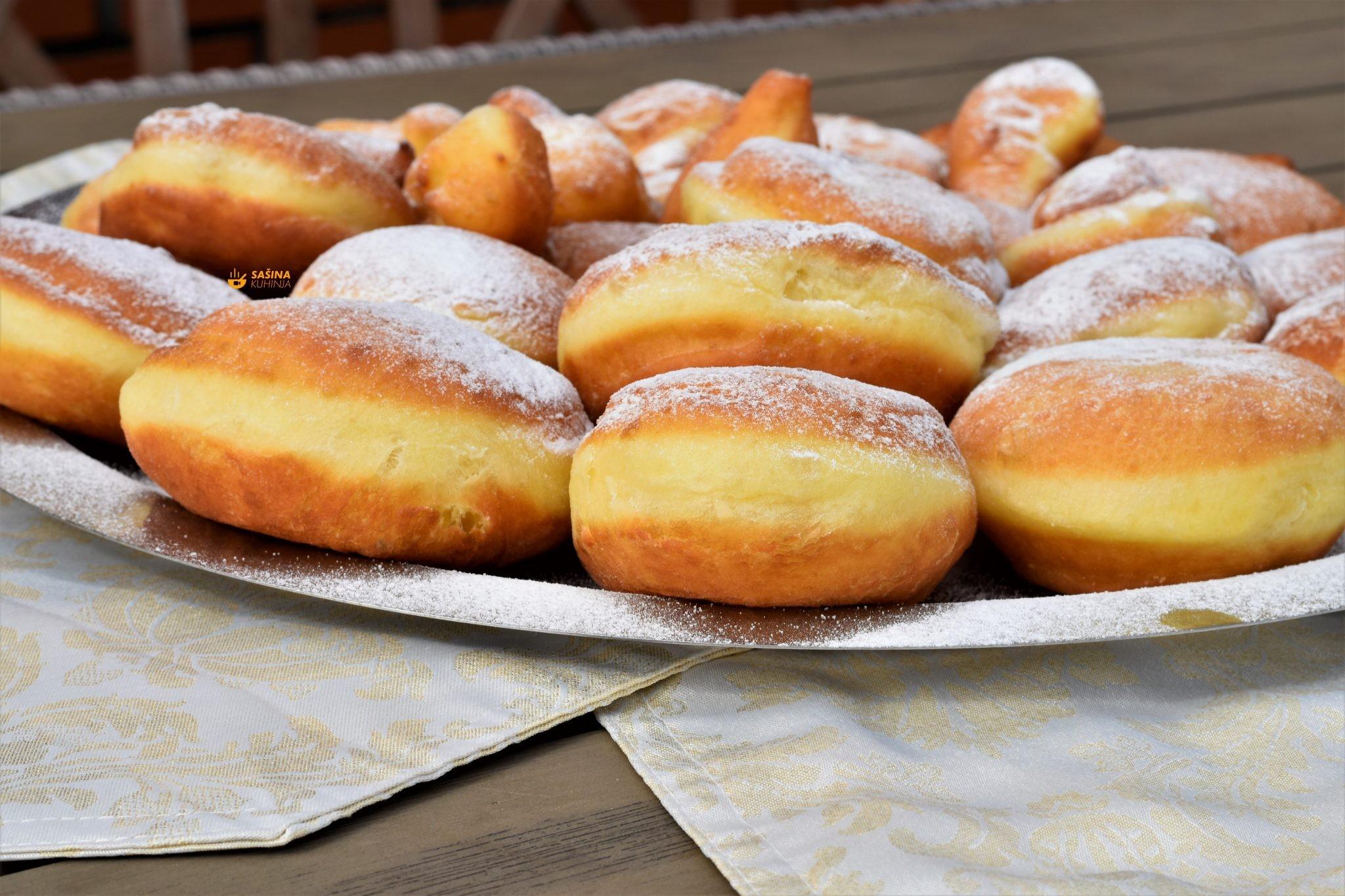 krafne krofne donuts
