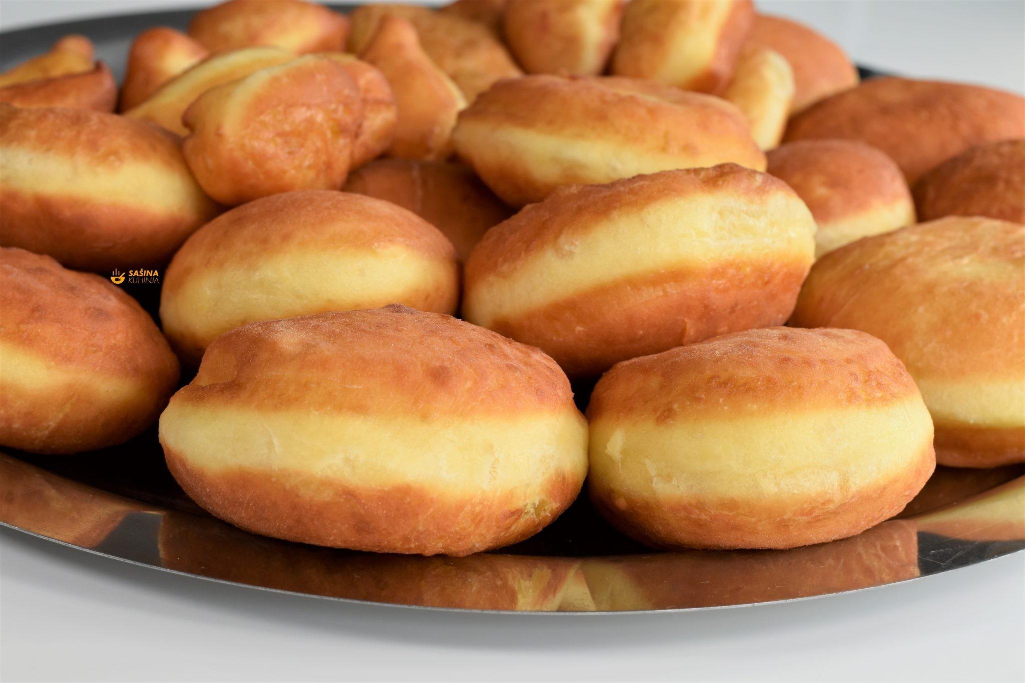 krafne krofne poklade donuts