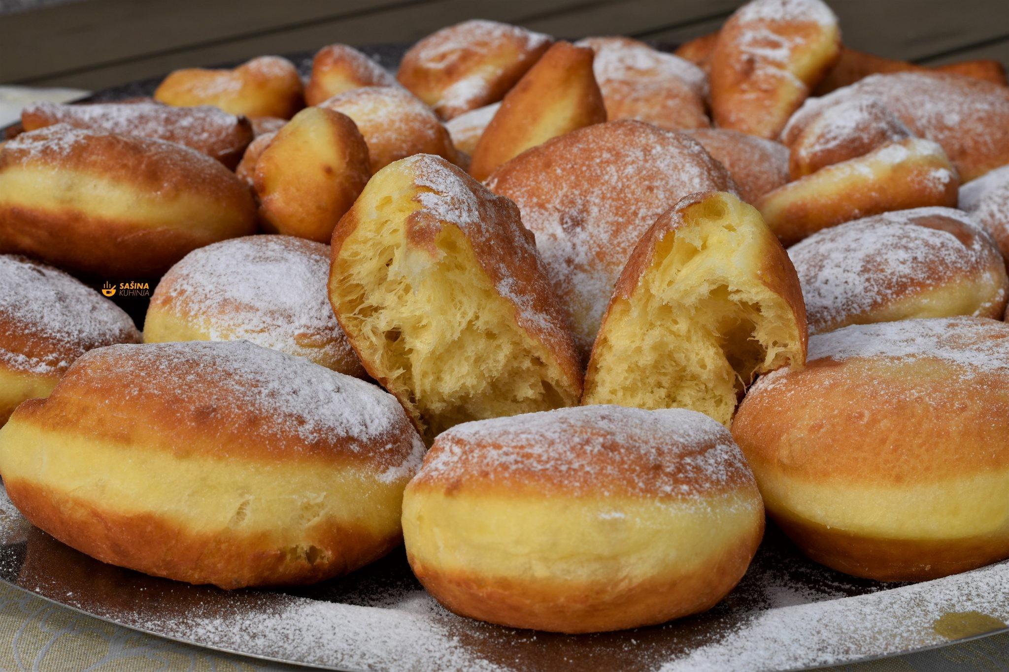 krafne krofne donuts berlina