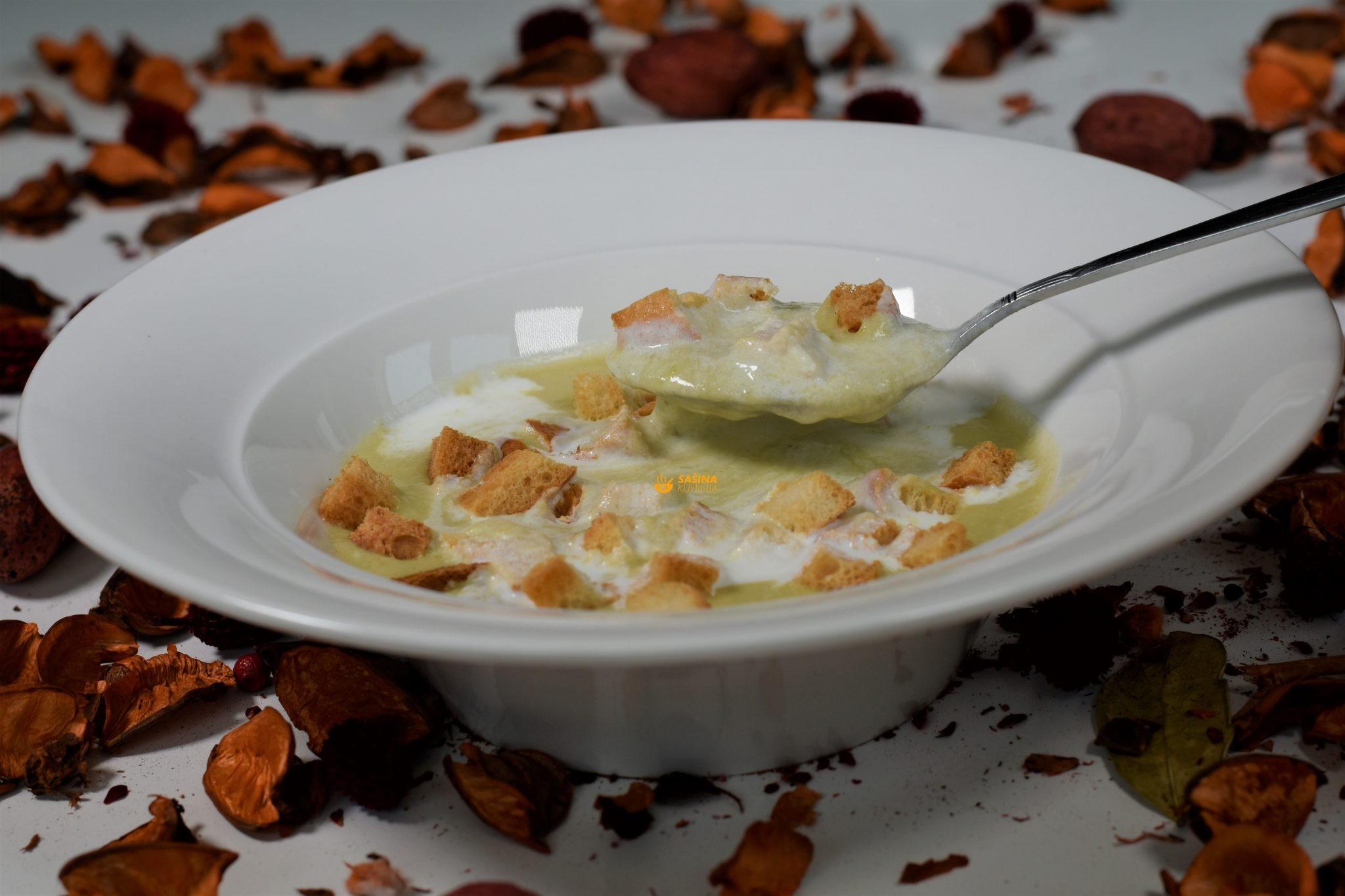 krem juha od krumpira i poriluka