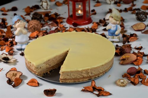 Cheesecake sa kestenima jesenski cizkejk