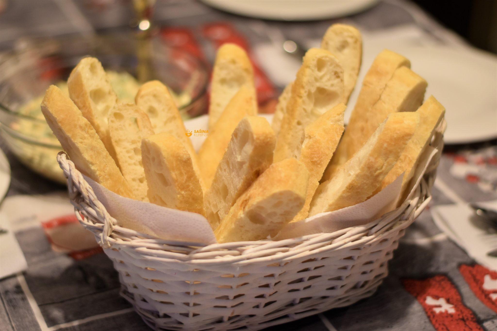 beskvasni kruh recept