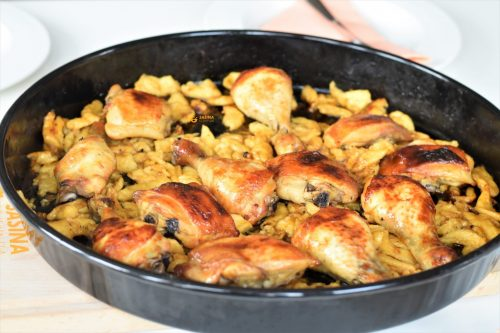 Piletina sa medom i narančom iz pećnice