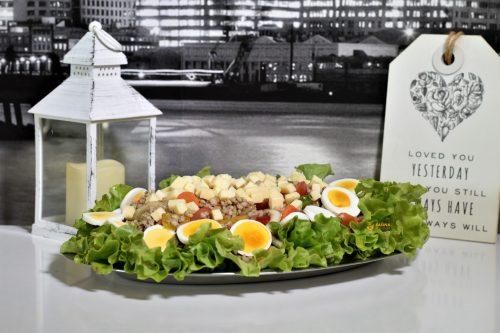 Salata sa ječmenom kašom recept