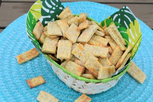 Krekeri od sira recept