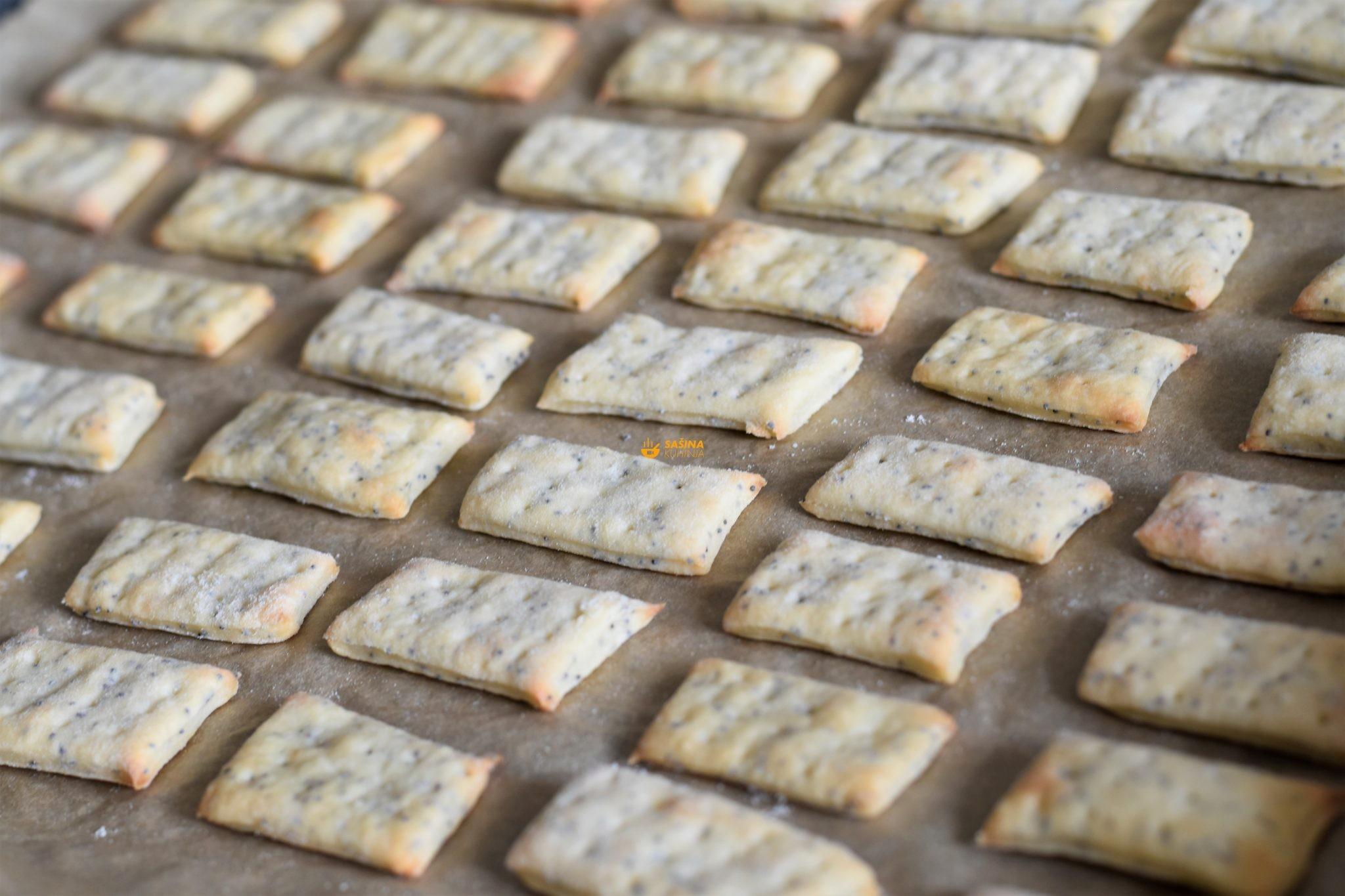 krekeri od sira recept sašina kuhinja
