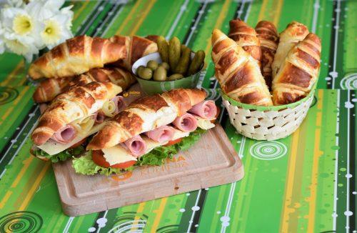 Mliječni kroasani recept Milk Croissant Recipe
