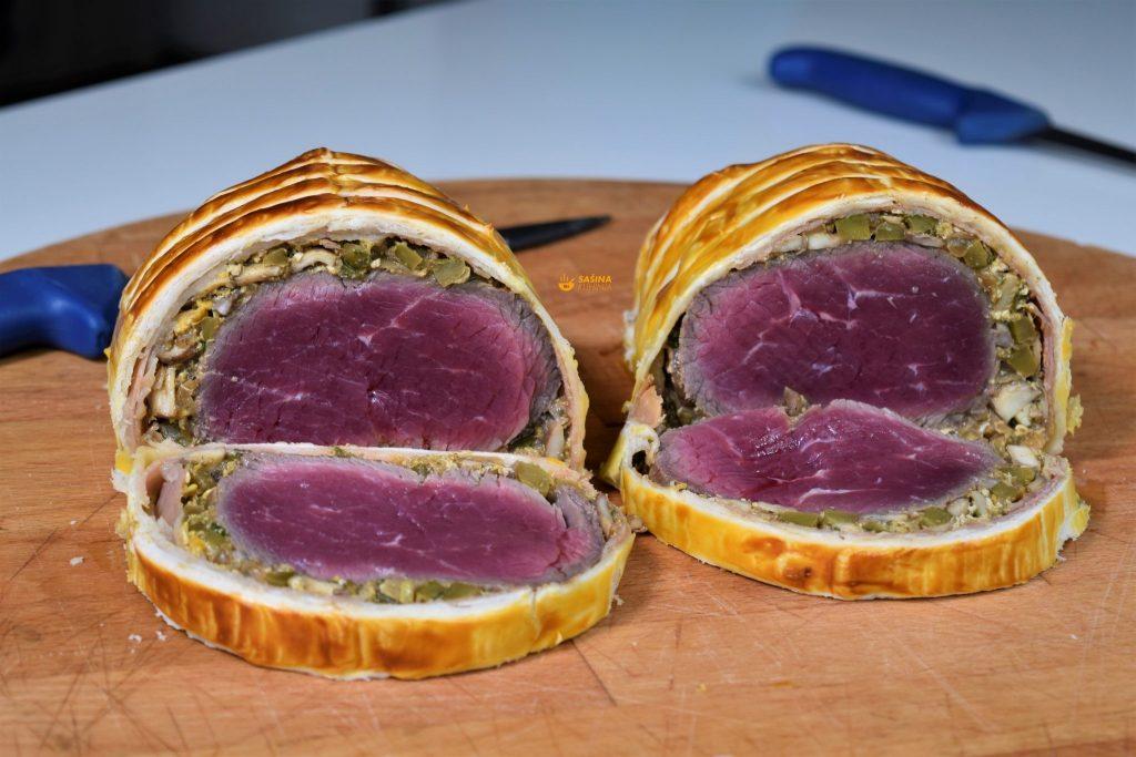 Beef Wellington Recipe Biftek u lisnatom tijestu