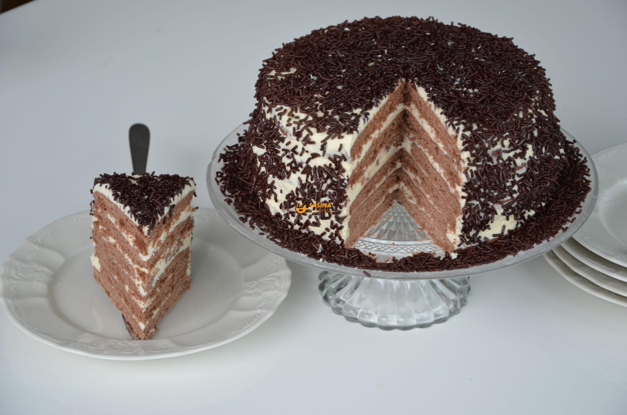 jednostavna torta pita sašina kuhinja