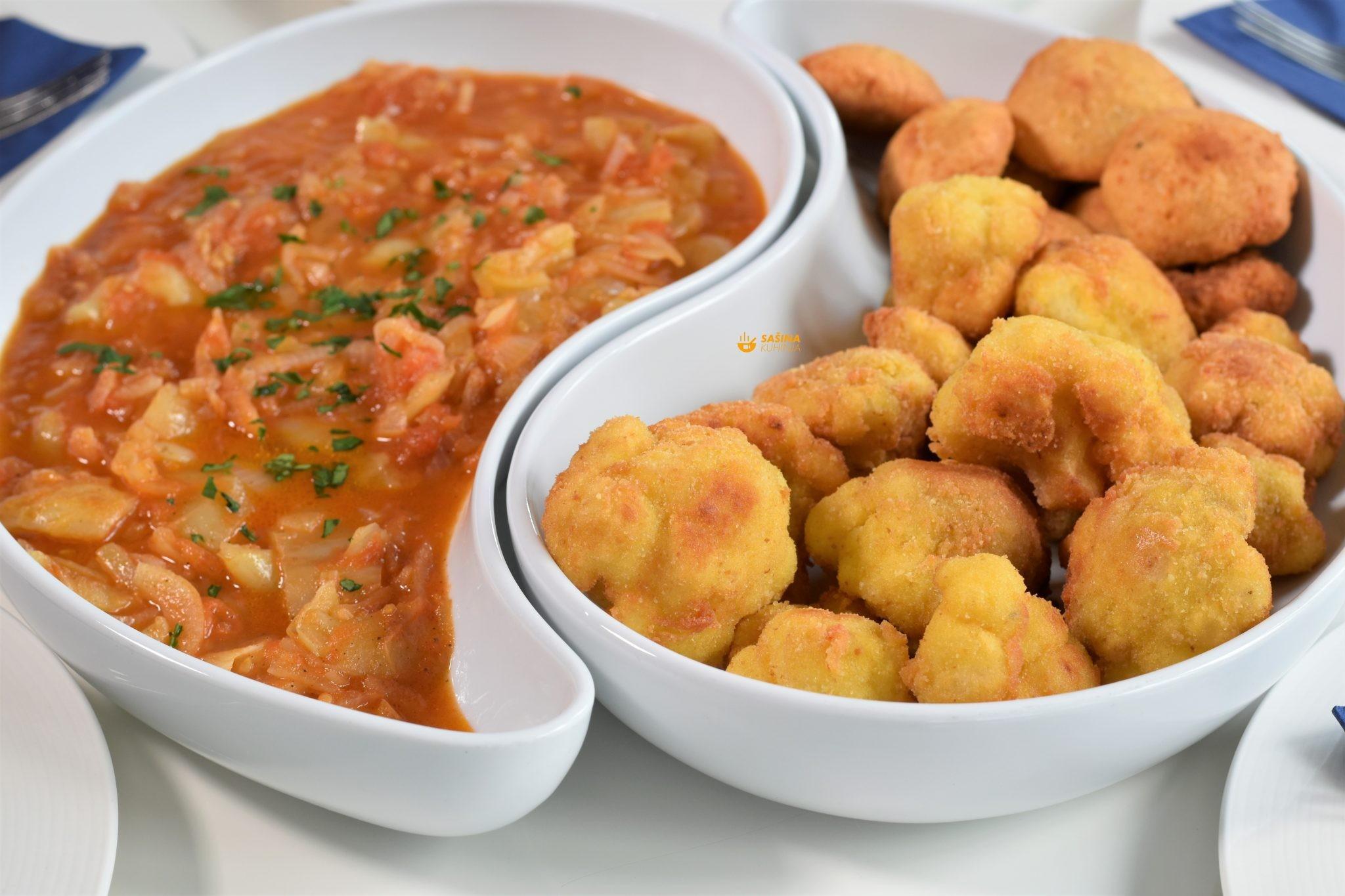 pohani karfiol recept