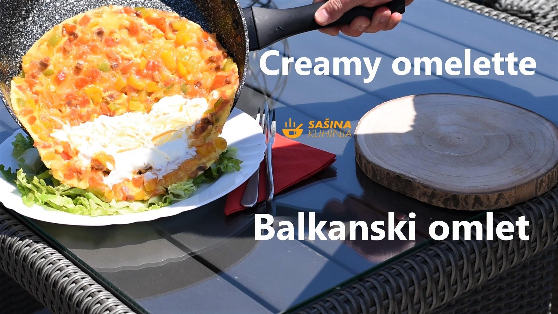 balkanski omlet sašina kuhinja