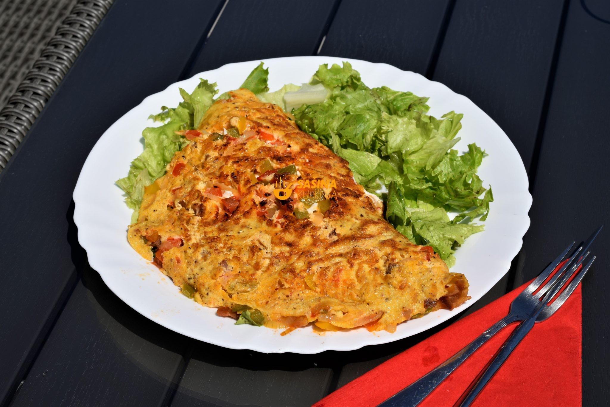 balkanski omlet sasina kuhinja