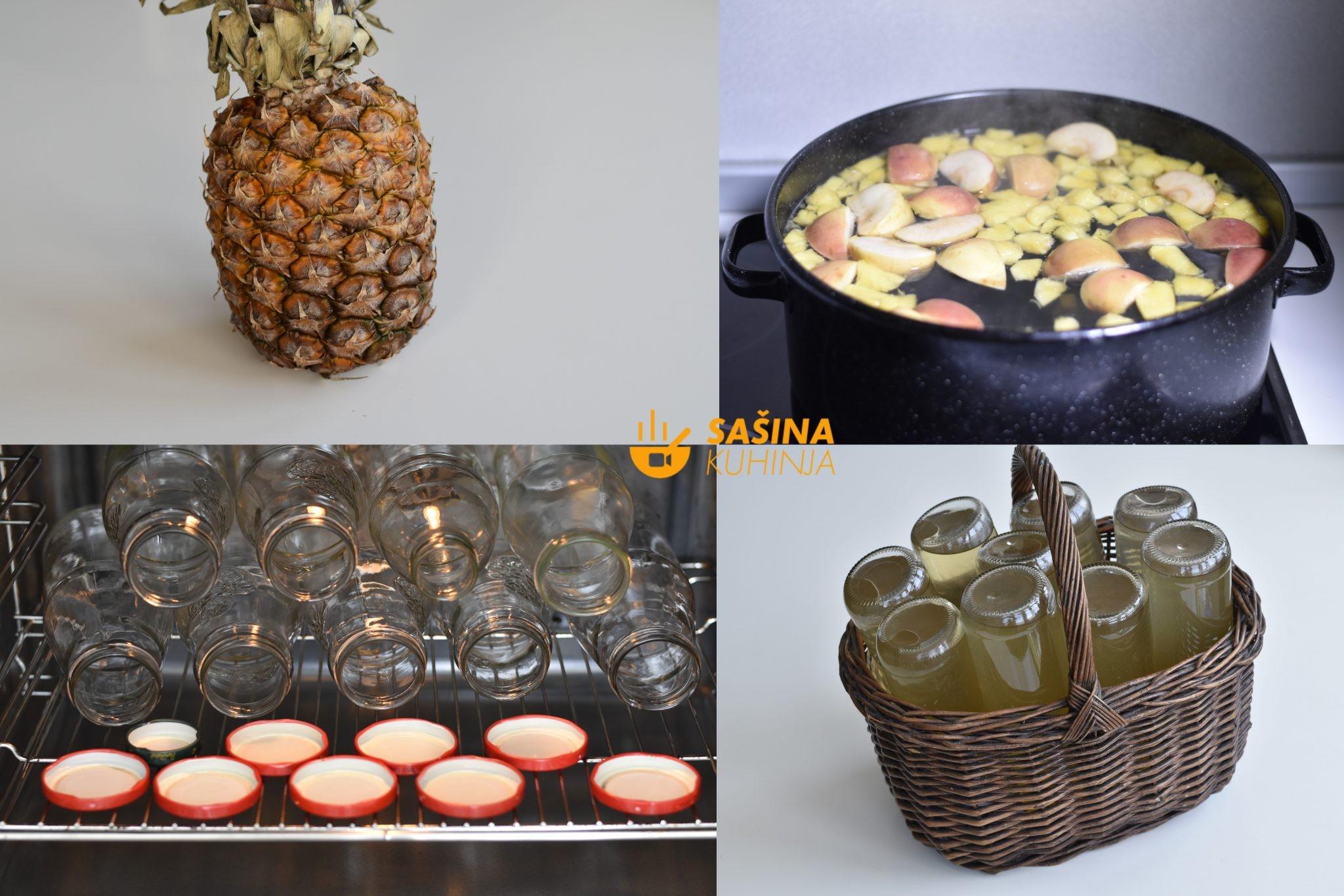 sirup od ananasa