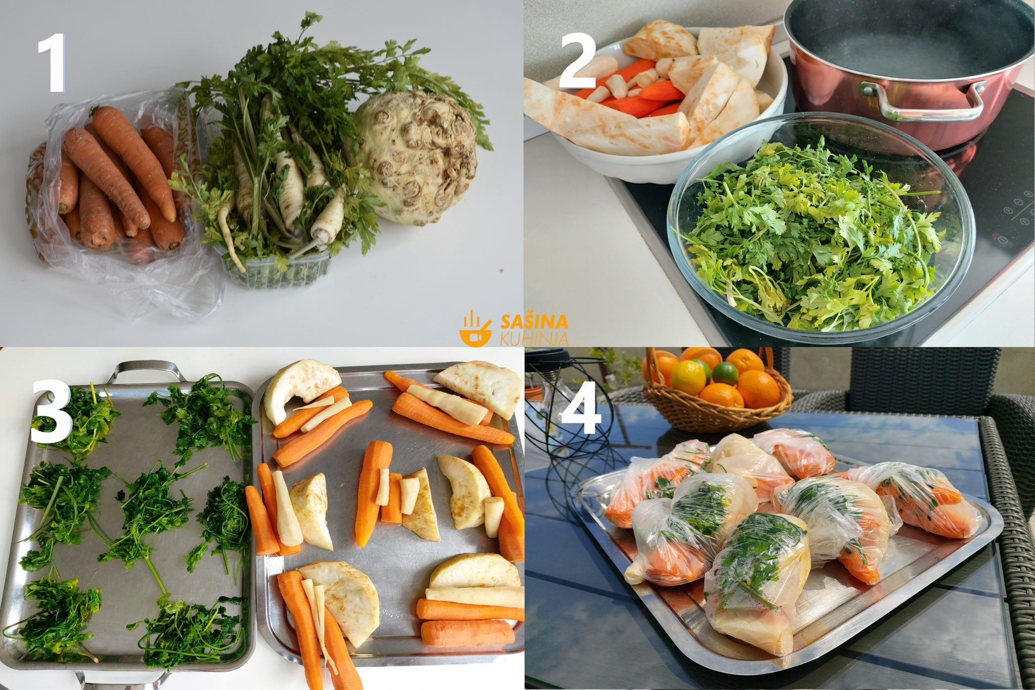 Grincek, grincajg, zelenje ili povrće za juhu Kako uštedjeti novce