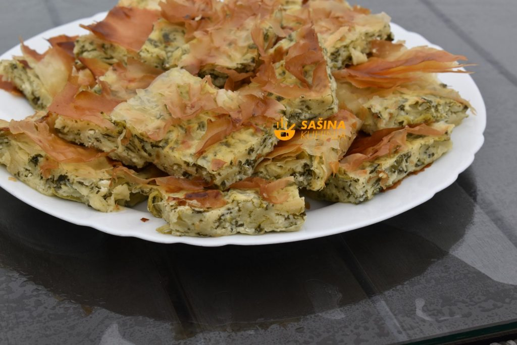 Brza pita od blitve i sira recept