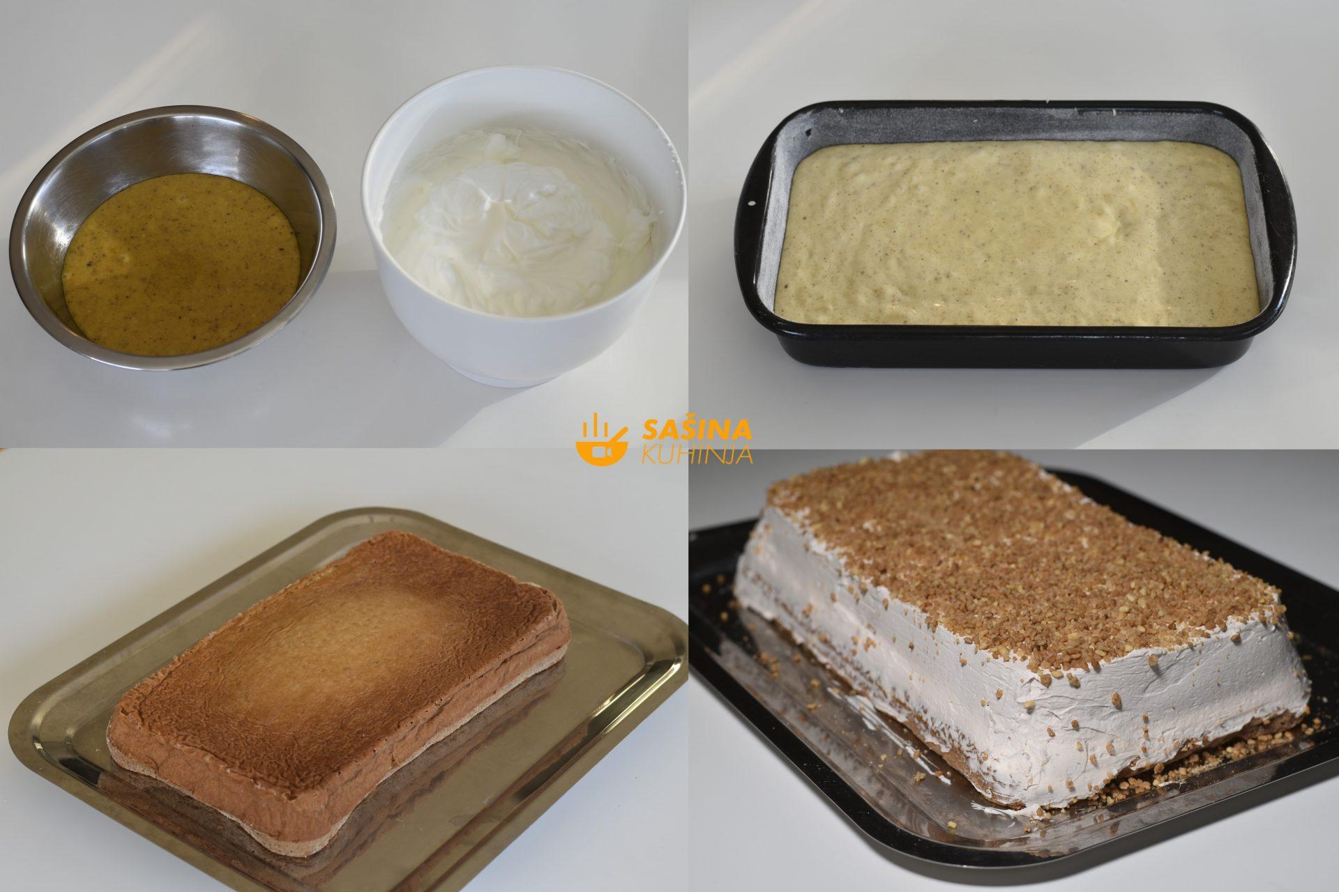 Gluten Free torta bez brašna sa lješnjacima i bijelom čokoladom recept