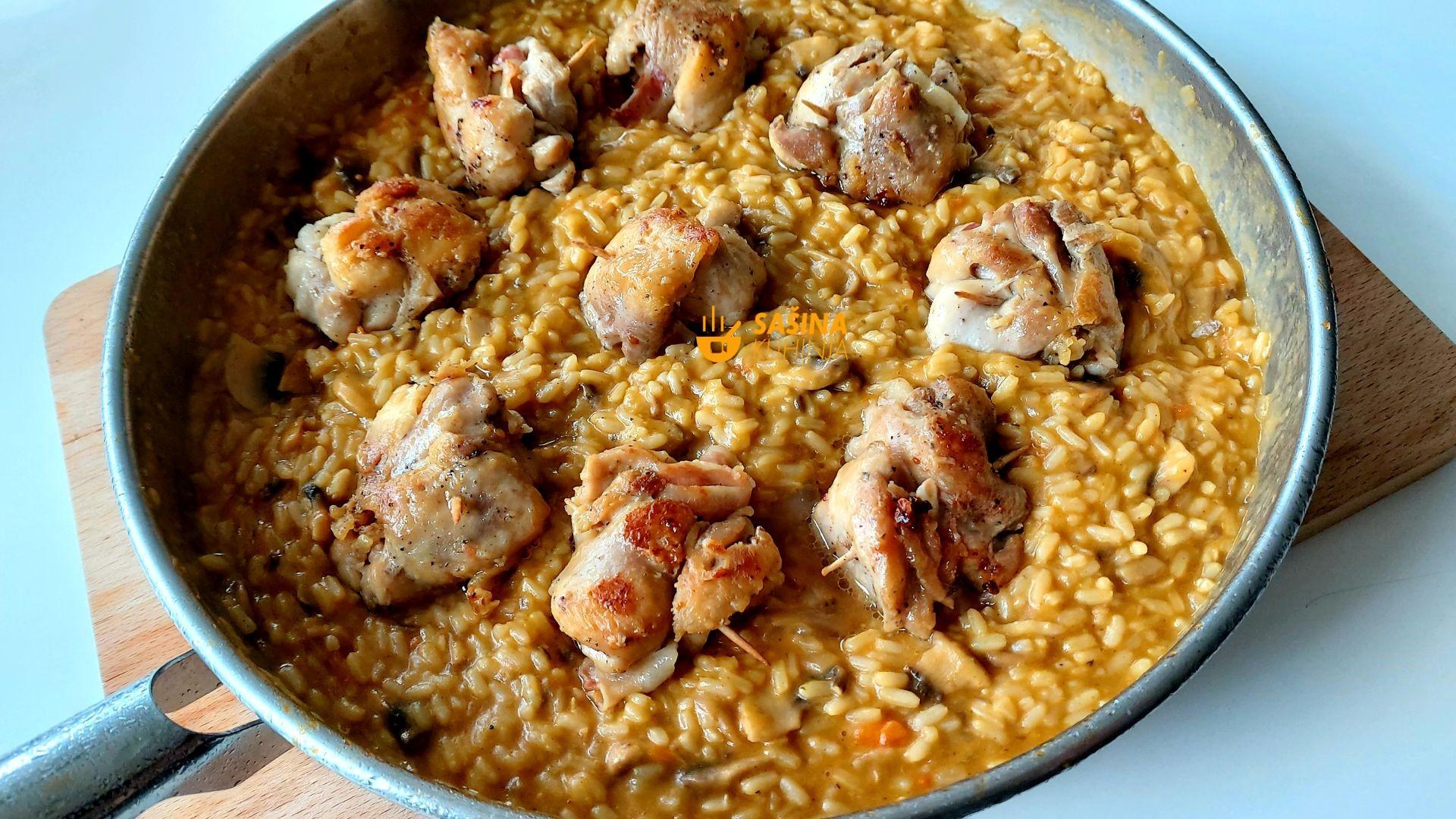 rižoto od piletine