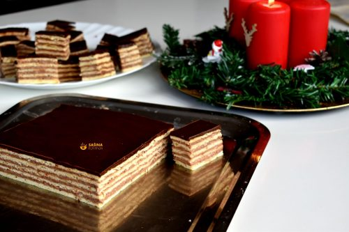 Sočna čokoladna pita sa orasima