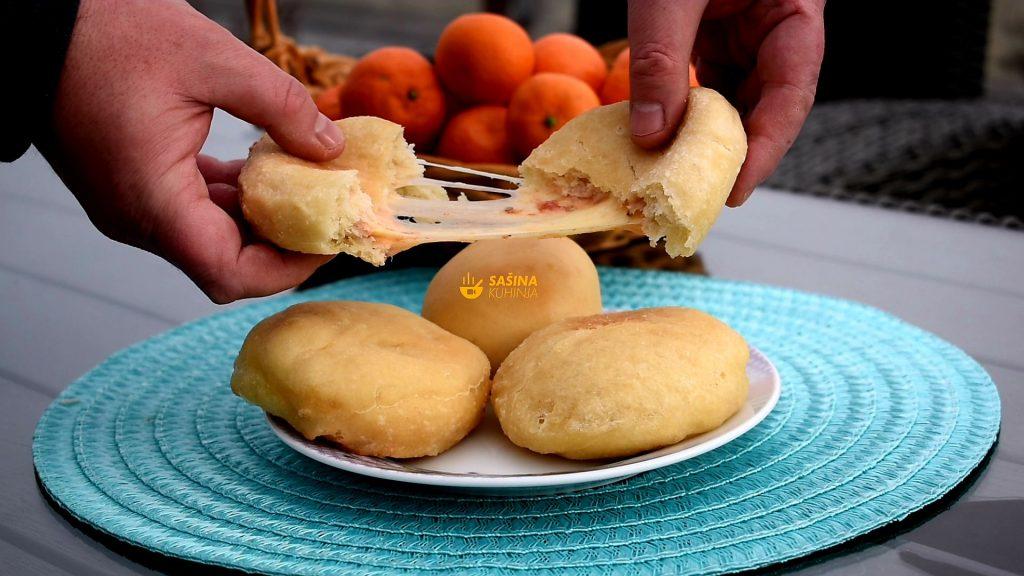 Pancerote pizza krafne ili krofne panceroti