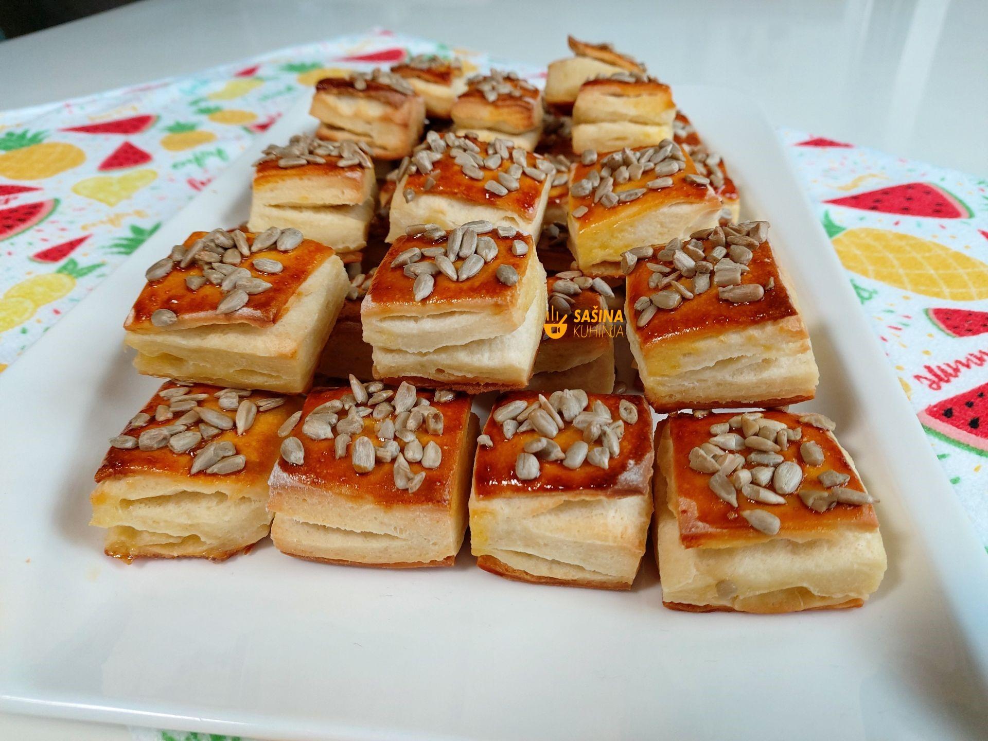 Čarobne pogačice kocke navečer zamijesiti ujutro se peku