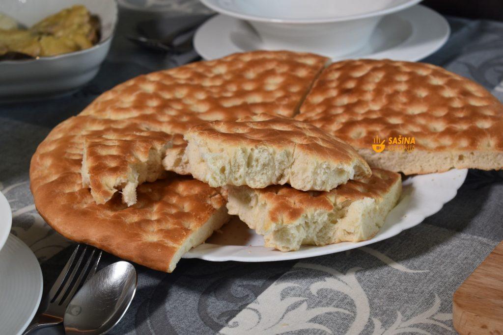 Tanki kruh sa kiselim vrhnjem recept