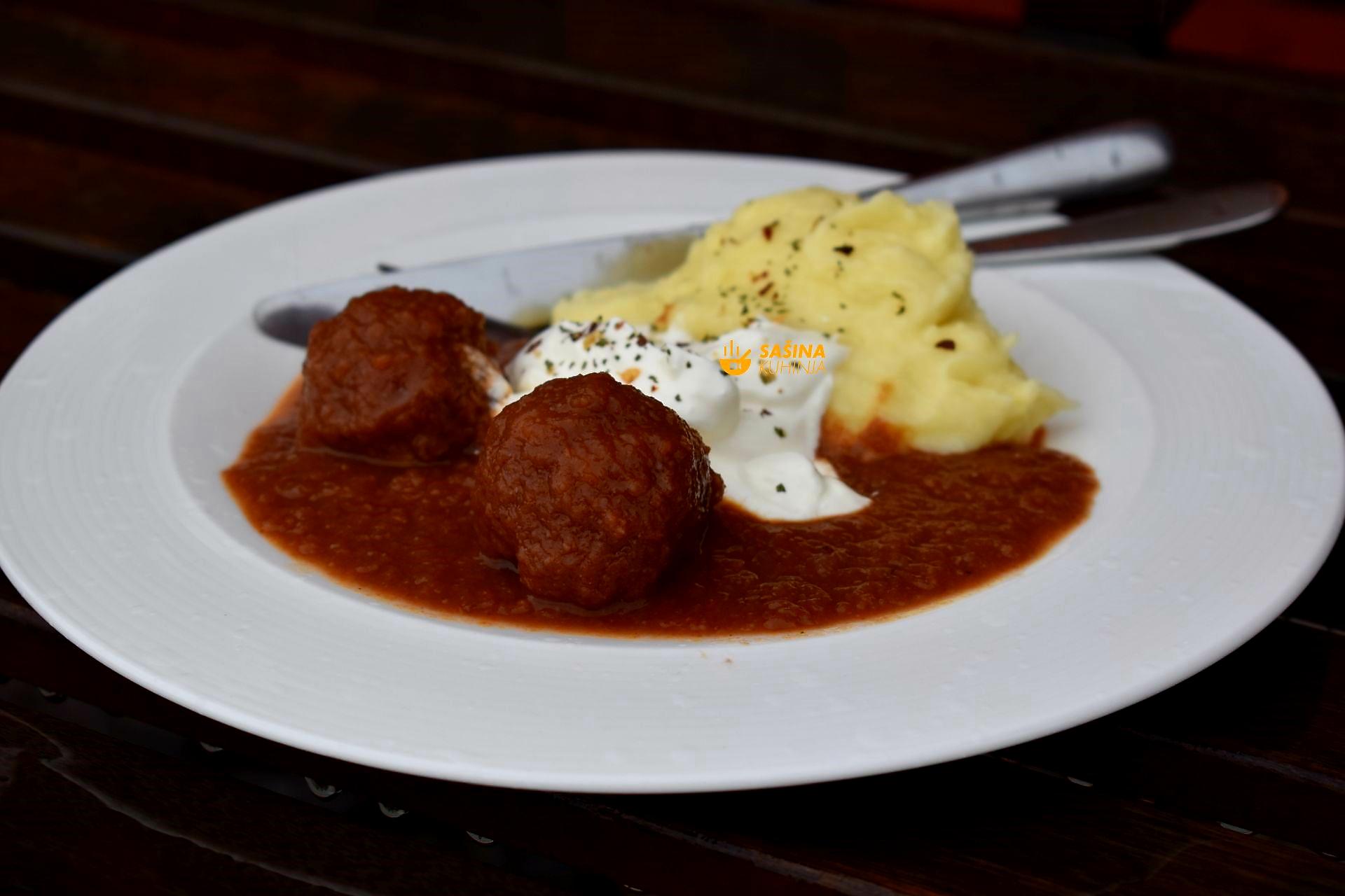zimske ćuftice mesne okruglice u finom sosu recept ćufte