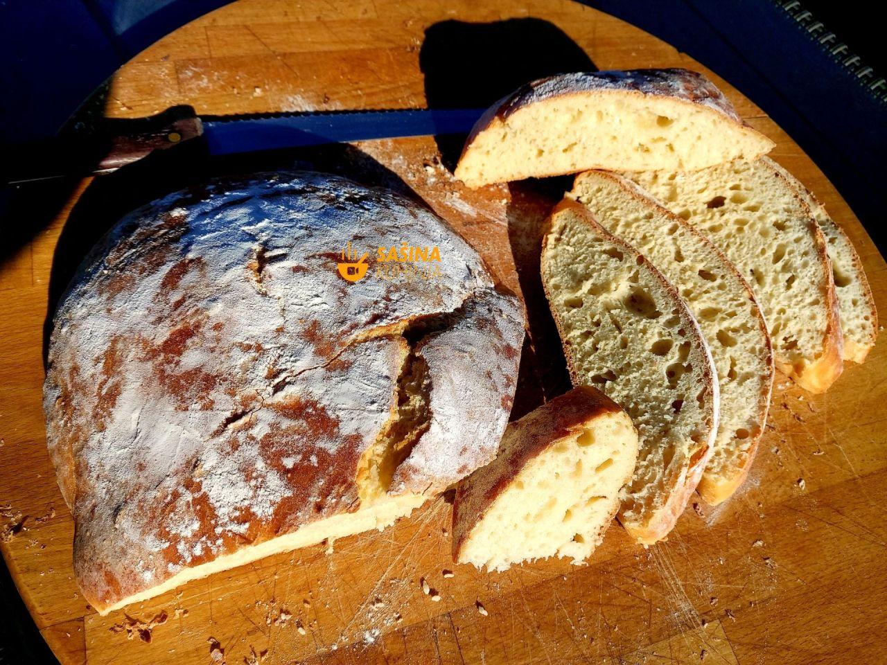 kruh sa sirom sašina kuhinja recepti
