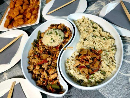 Piletina na kineski sa povrćem
