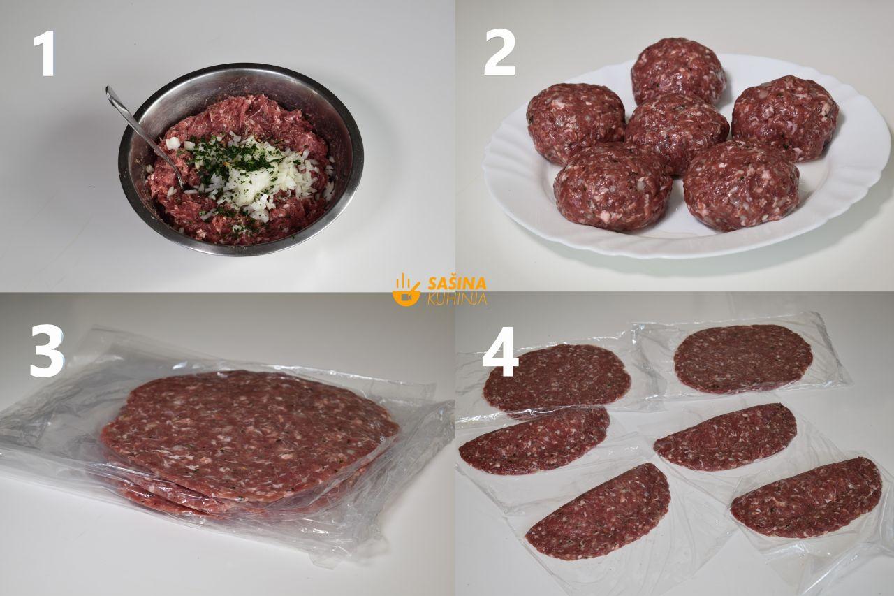 punjene pljeskavice recept za pljeskavica punjena sa sirom sašina kuhinja