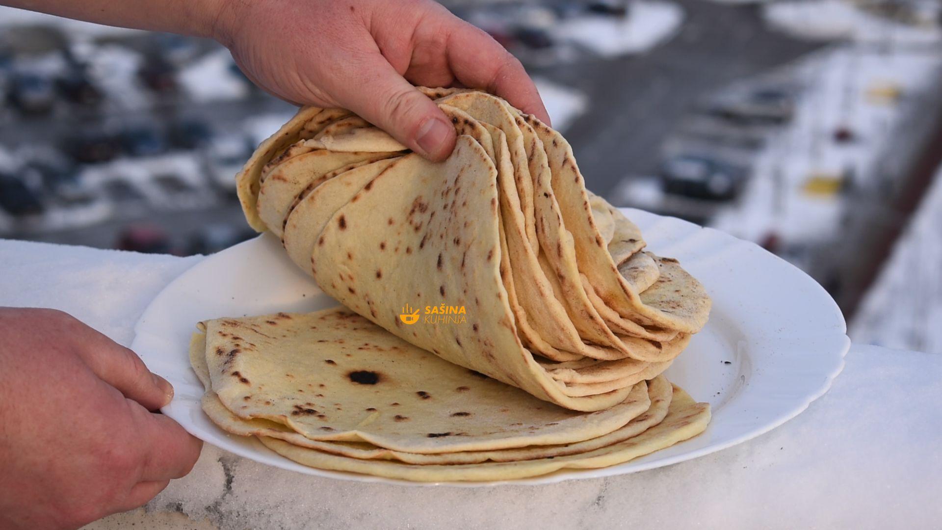 Recept za tortilje wrap 16 komada koje uvijek uspiju