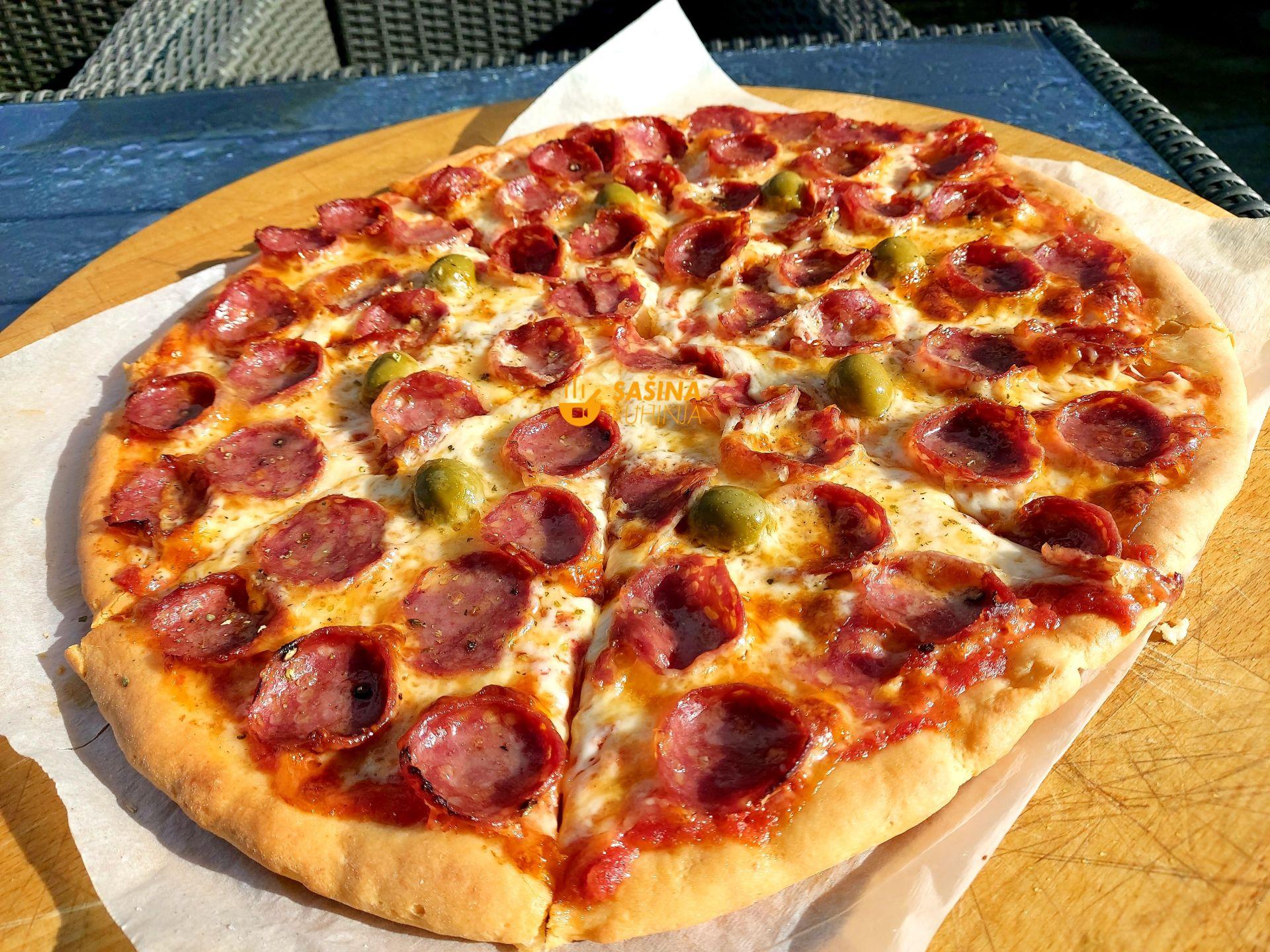 tijesto za pizzu gotovo za par minuta koje još niste probali