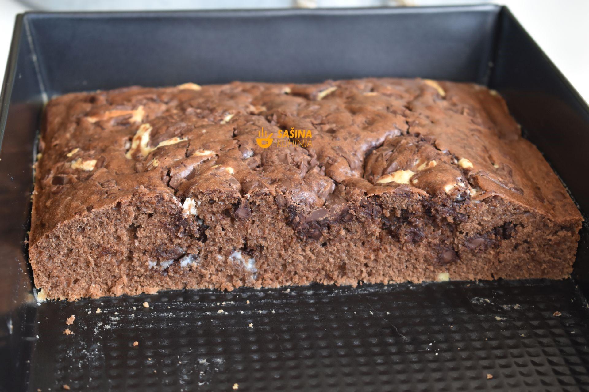 brzi čokoladni kolač veliki mafin