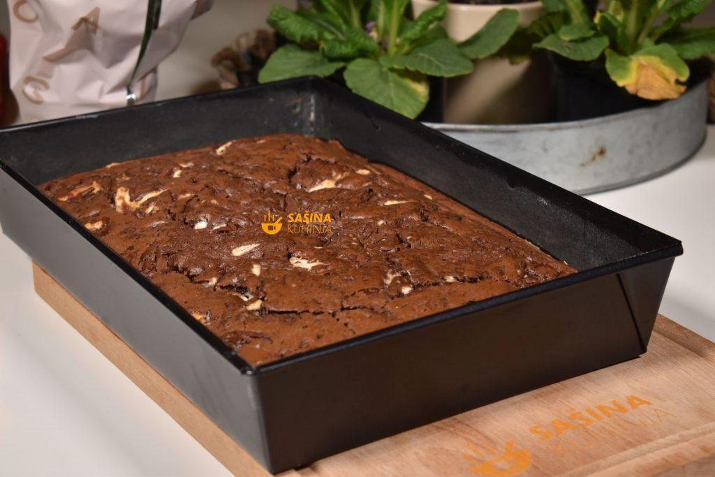 Brzi čokoladni kolač veliki mafin recept