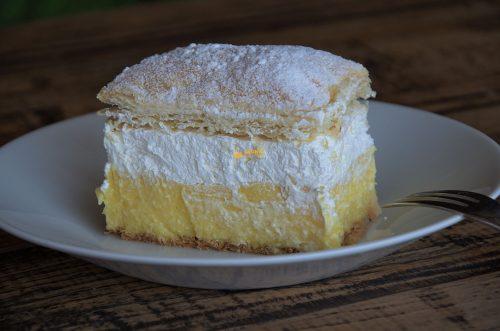 Kremšnite krempita bez laktoze Alpro kolač