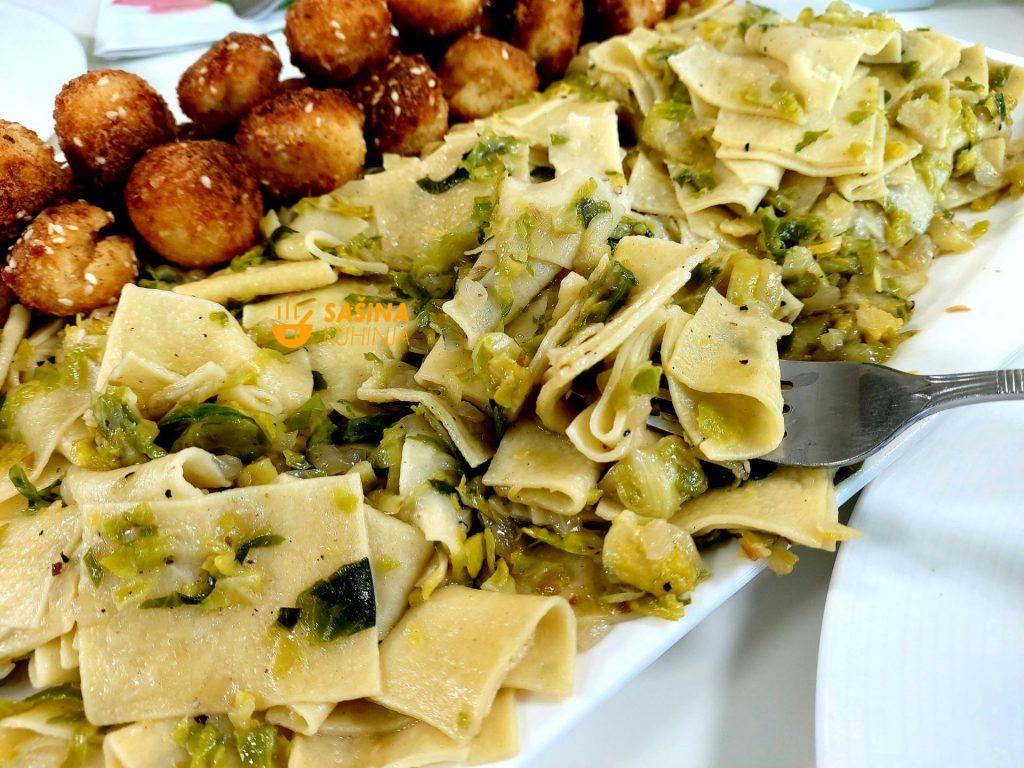Krpice sa prokulicama flekice kelj pupčar recepti