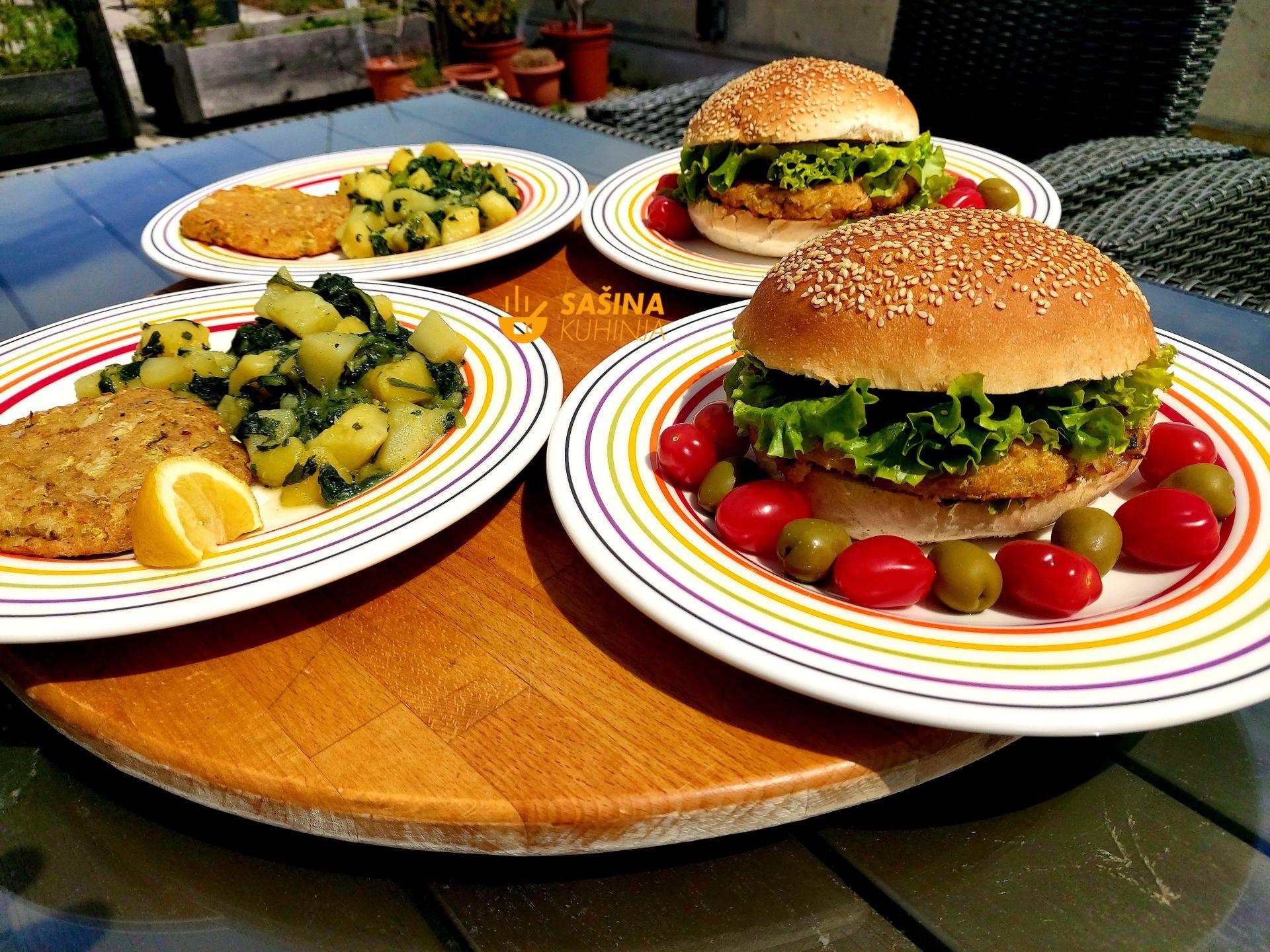 fishburger sa filetima bilo koje ribe recept sašina kuhinja aljaška kolja