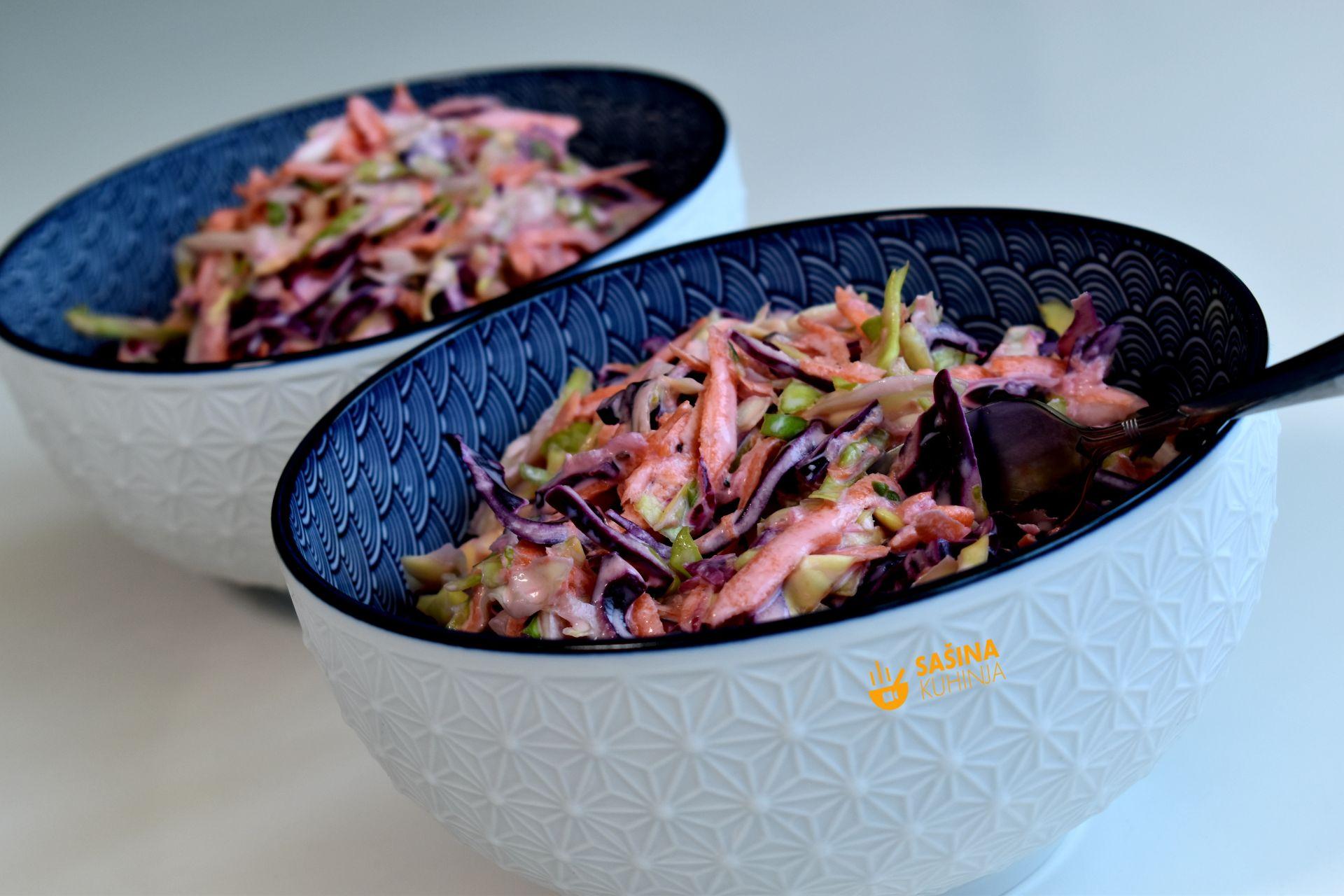 coleslaw salata recept za salatu