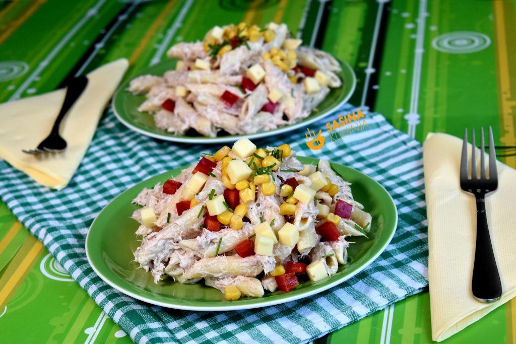 Hladna salata sa tunjevinom recept