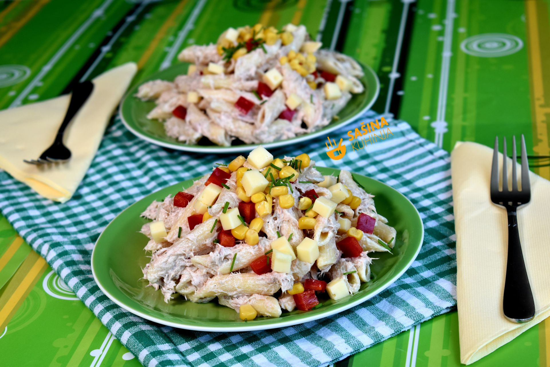 hladna salata sa tunjevinom