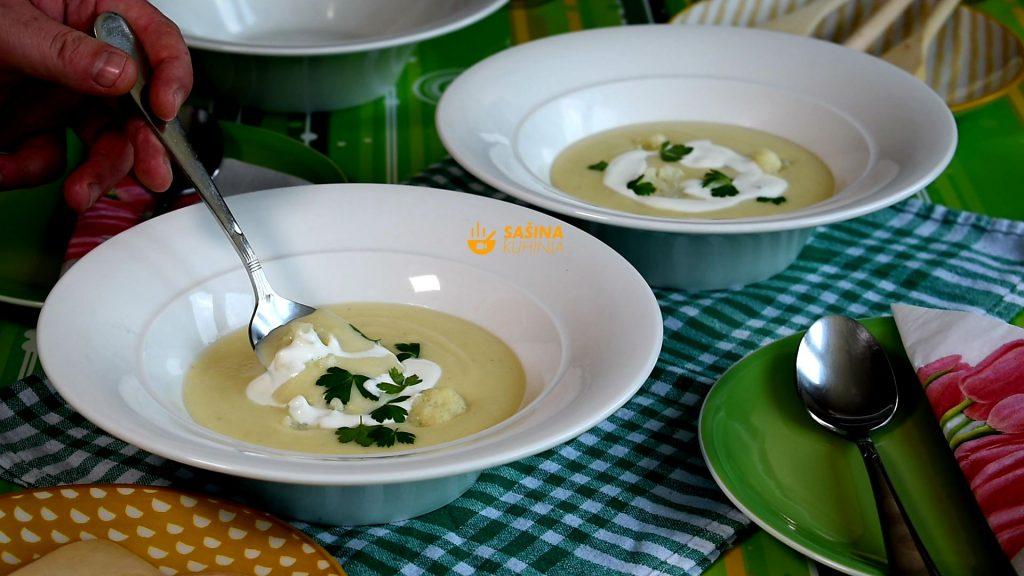 Krem juha od karfiola i krumpira recept