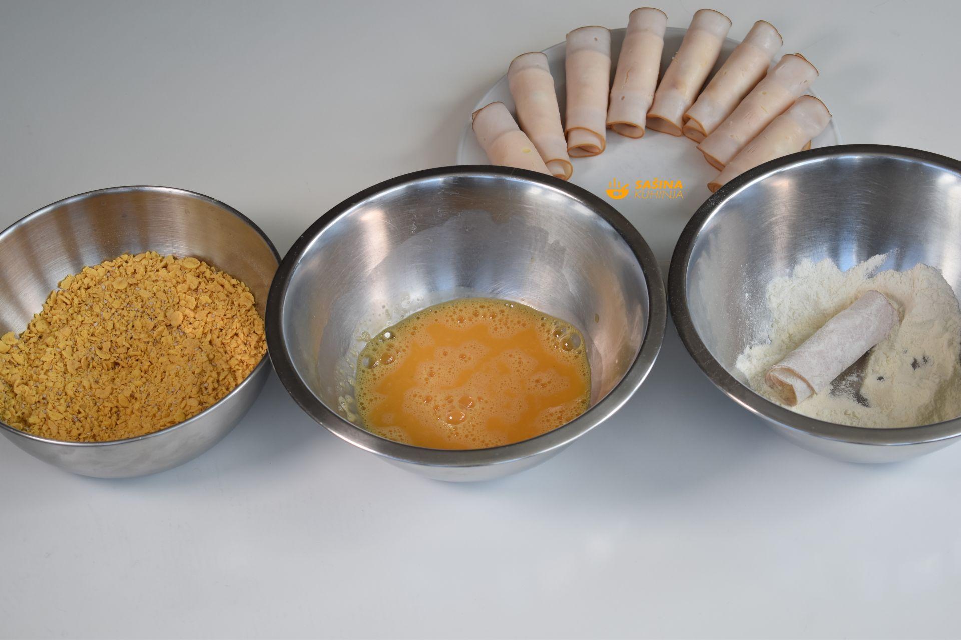 kremaste rolice i medeno povrće recept