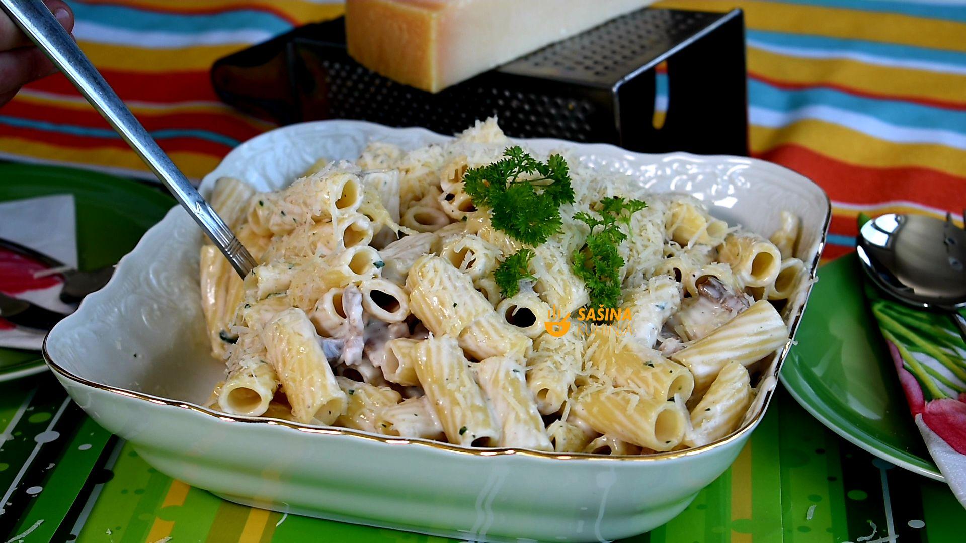 lažna carbonara recept lazna karbonara sasina kuhinja recepti