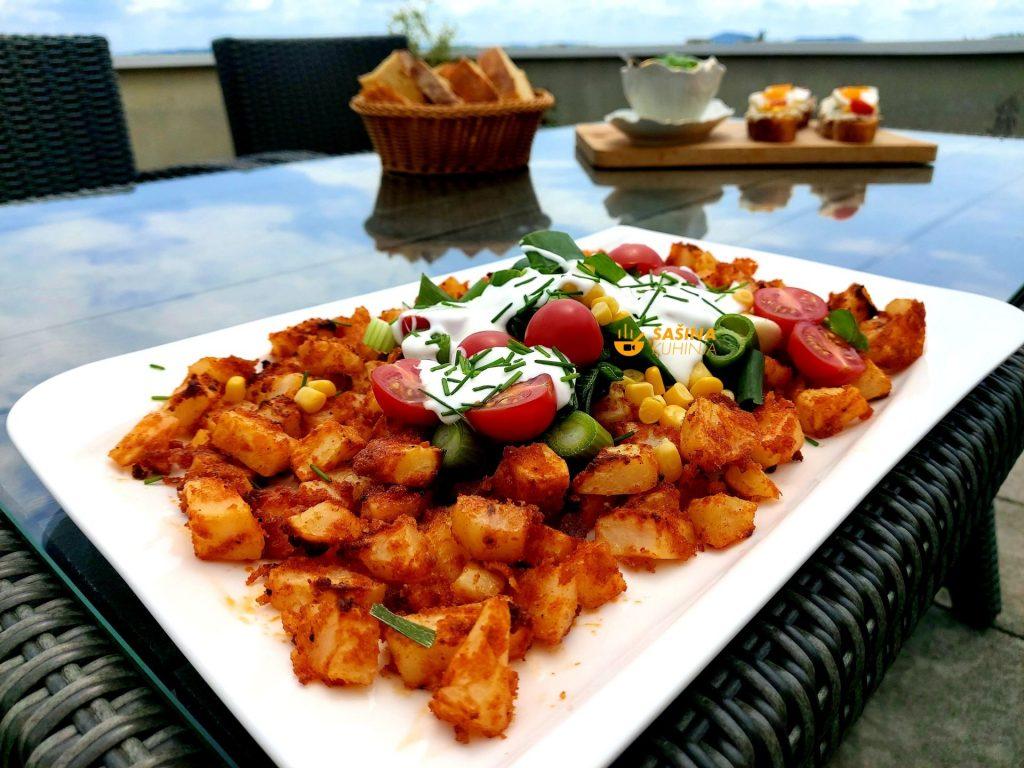 Pečeni krumpir iz pećnice odličnog okusa recept