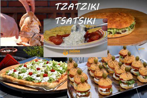 Tzatziki tsatsiki ili tarator recept