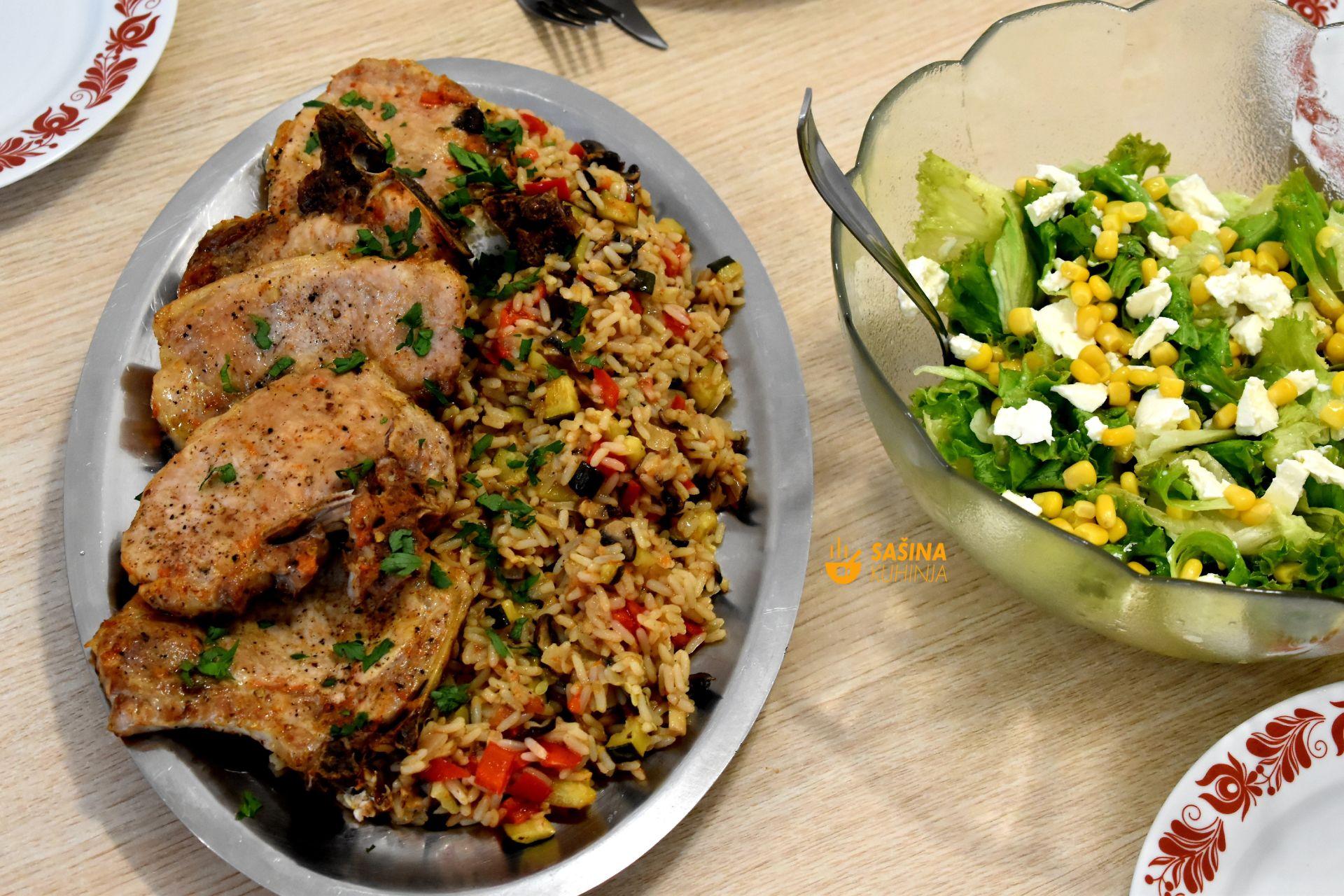 krmenadli s rižom i povrćem iz pećnice kotleti kremenadle sašina kuhinja
