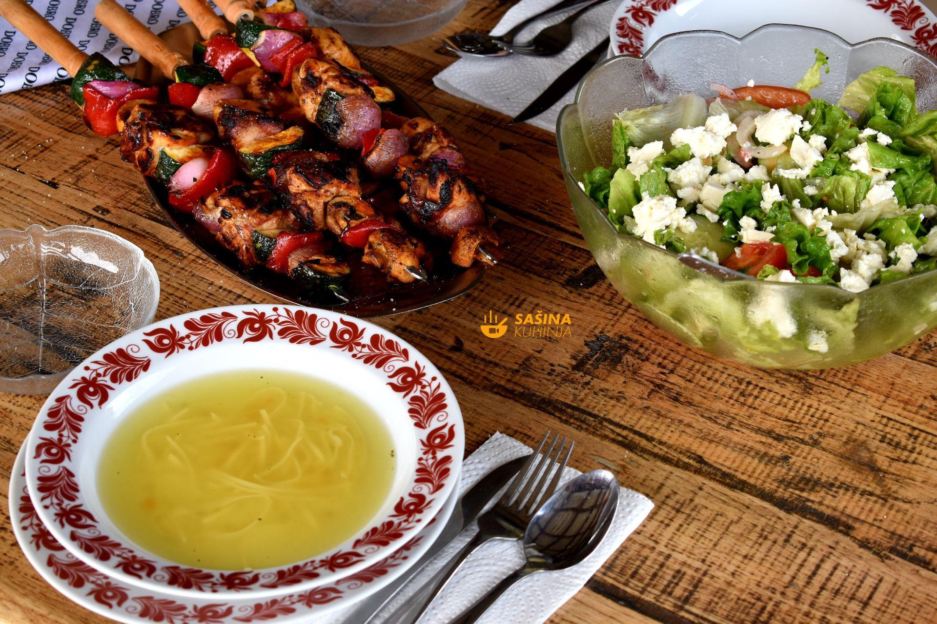 Piletina s roštilja ili sa žara recept