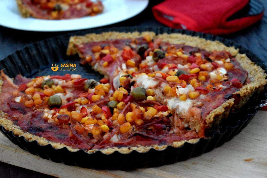 Quiche Pizza recept bez glutena