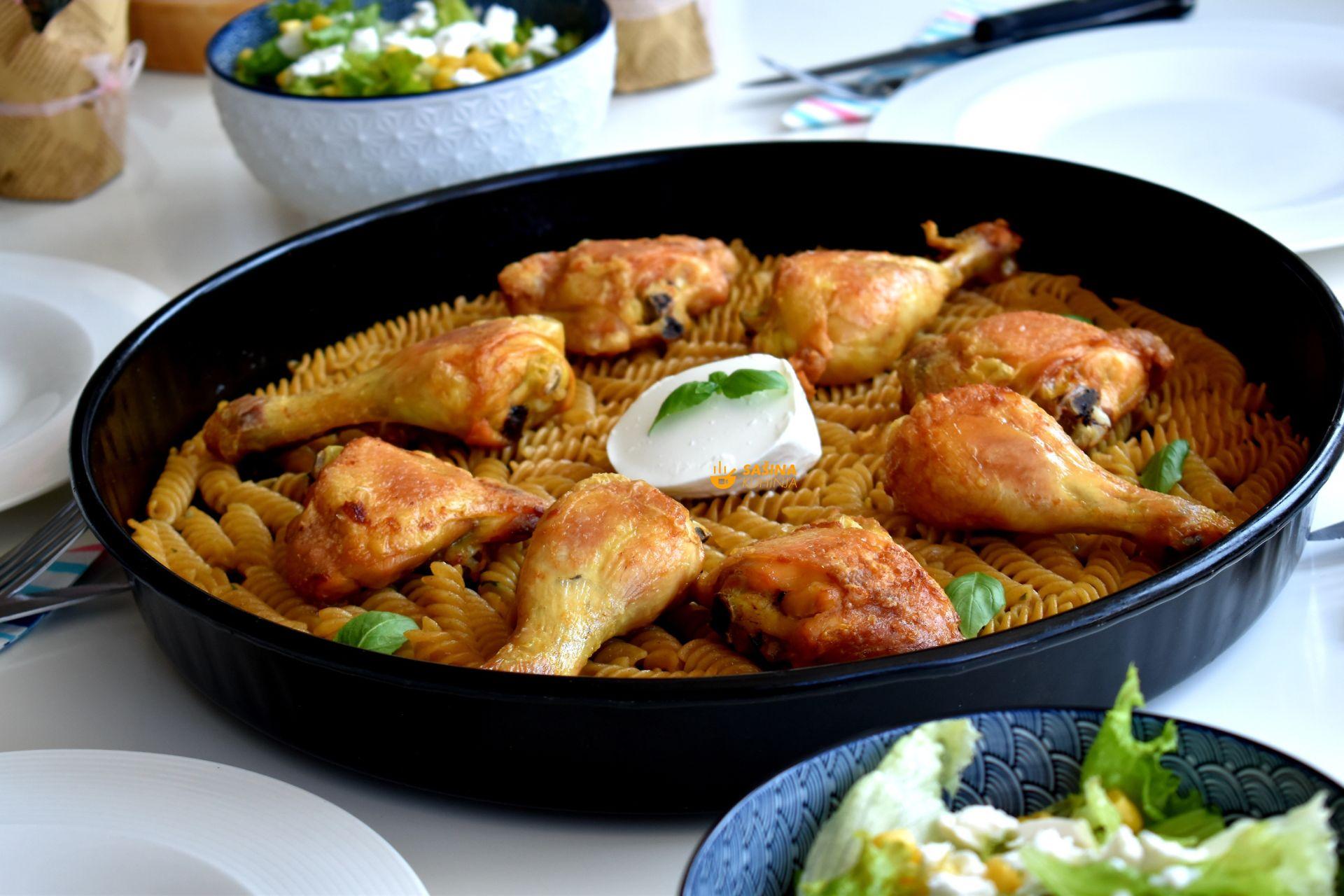 Kad se dogodi da nemate ništa osim piletine recept