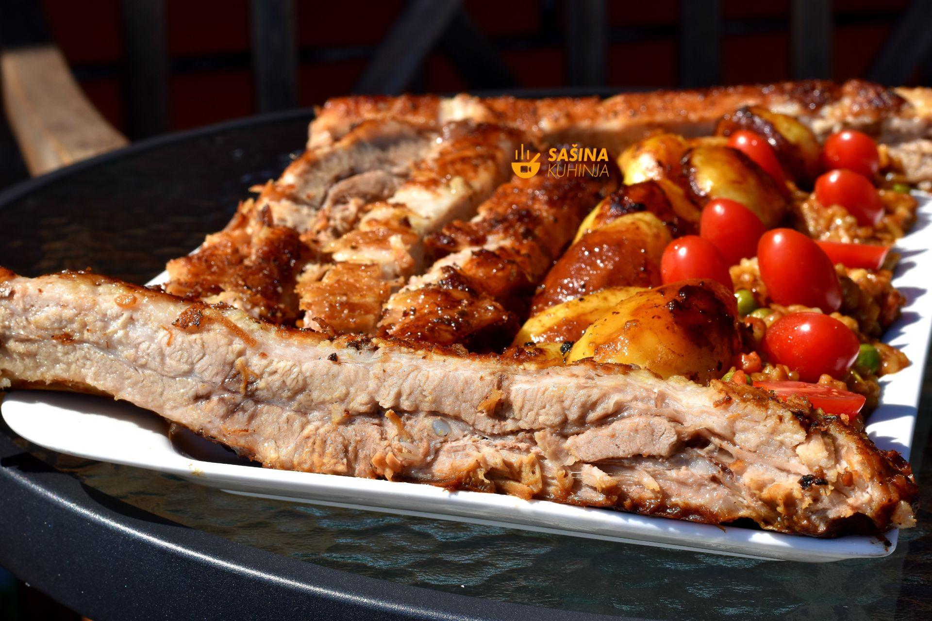 rebra od svinjetine iz pećnice recept za svinjska rebrica ili rebarca sašina kuhinja